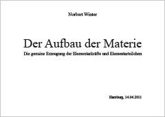 Der Aufbau der Materie