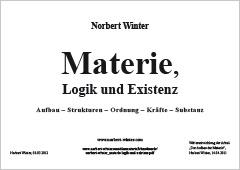 Materie, Logik und Existenz
